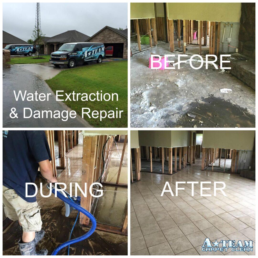 water damage testing tips