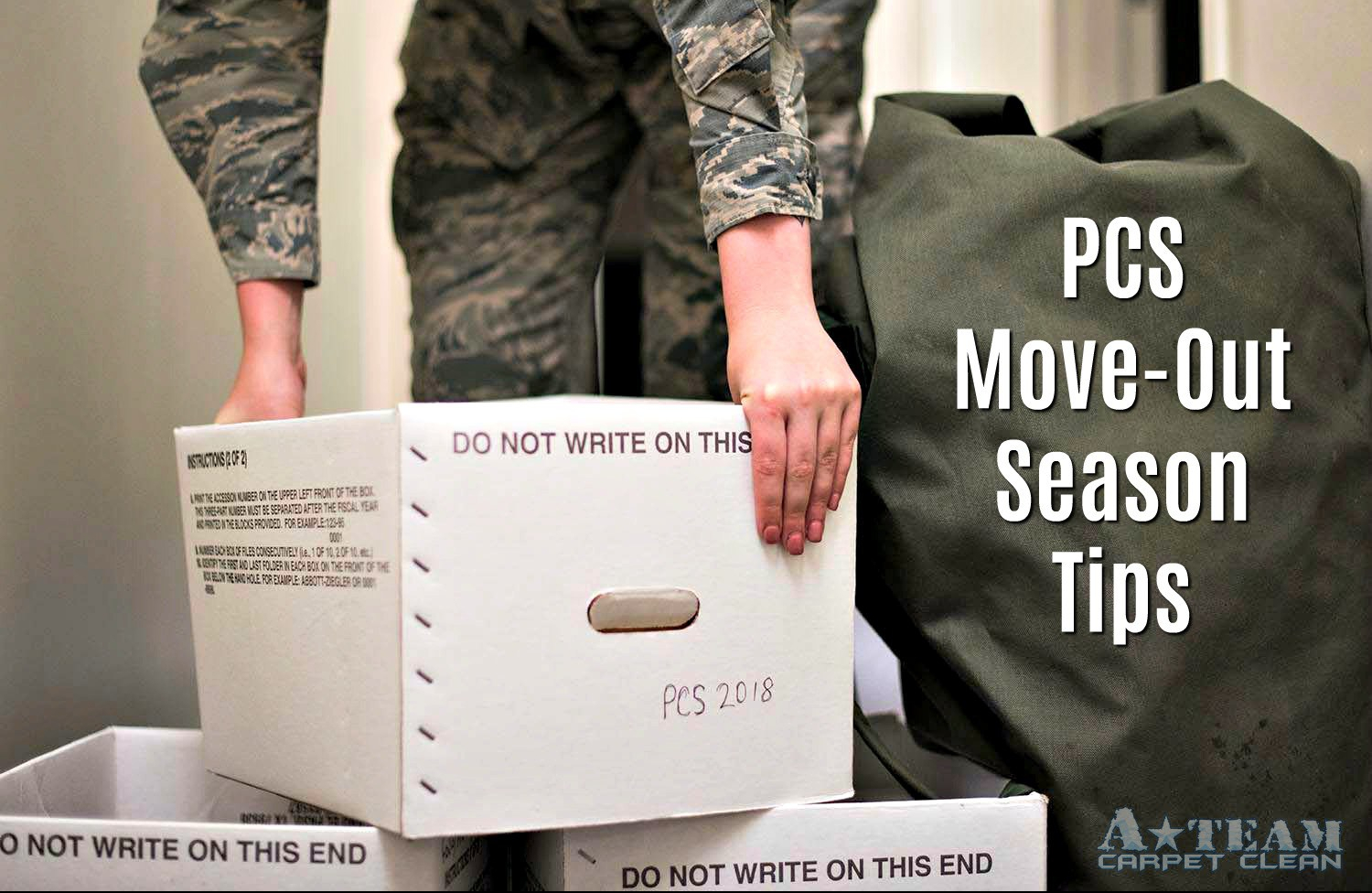 PCS Move-Out Season Tips