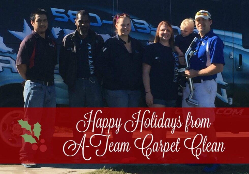 happy holidays from A-Team