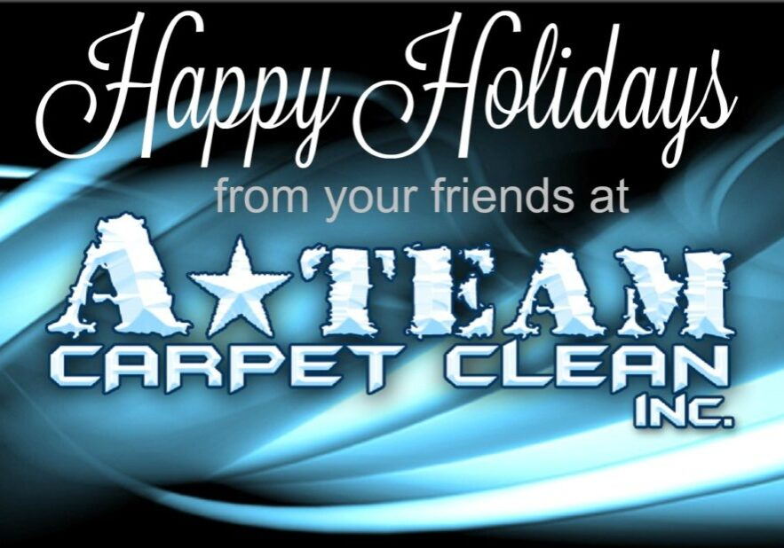 happy holidays from A Team Carpet Clean